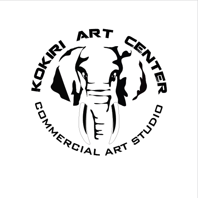 코끼리 아트 촬영소로고