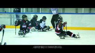 평창 패럴림픽 장애인 아이스하키