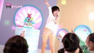 노래하는 핑크퐁 동전노래방 핑크퐁 피아노