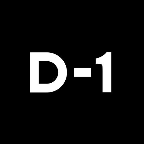 디마이너스원 D-1로고